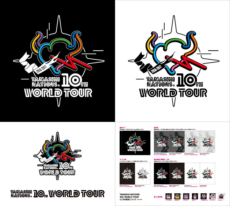tamashii nations 10th anniversary world tour flying bell company